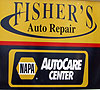 Jason and Lonni Fisher, Owners of Fisher's Auto Repair
